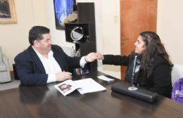 Nedela recibió a la joven flautista Milagros Sara