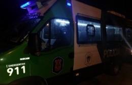 Parte policial tras allanamiento  en el barrio Solidaridad