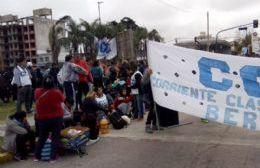 La CCC de Berisso se sumó a la jornada de lucha nacional