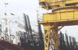 Astillero Río Santiago recibe buque de origen chino para reparación