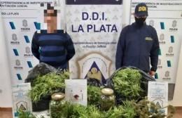 Incautaron marihuana valuada en 1.300.000 pesos y hay un detenido