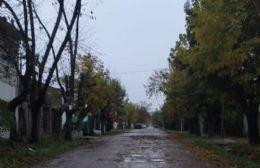 Vecinos de 14 y 152 reclaman el arreglo de las calles
