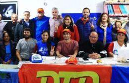 Referentes del PJ participaron de un encuentro para la conformación de un Frente de Unidad contra Macri