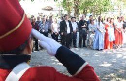Celebración del Día de la Soberanía Nacional en el Fortín Gaucho