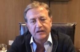 El gobernador electo de Mendoza envió su apoyo a Nedela