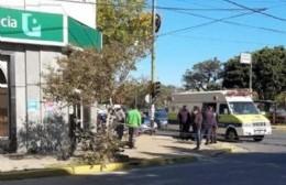 Amenaza de bomba en el Banco Provincia de Montevideo y Génova