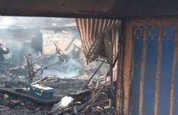 Consternación por incendio fatal en Punta Lara