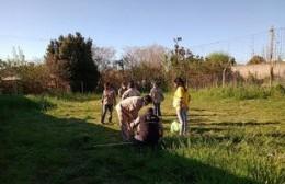 Centro de Fomento Villa Progreso: Limpieza y mejora de los espacios verdes