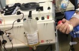 Se necesitan donantes de plasma factor 0 negativo para el vecino Carlos Giglio