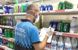 Control Urbano interviene en comercios para verificar el cumplimiento del protocolo de higiene
