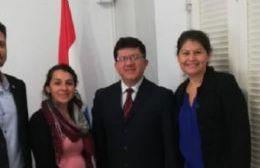 Referentes locales mantuvieron una reunión con autoridades paraguayas