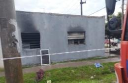 Trágico incendio en una vivienda de 8 y 143: murió una nena de dos años