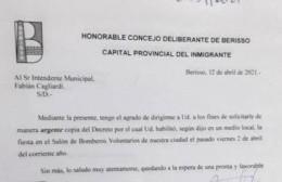 """Di Renta y la fiesta en Bomberos: """"Es una vergüenza lo que sucede y claramente no quieren dar la información"""""""