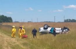 Policía berissense resultó gravemente herido en un accidente camino a Mar del Plata
