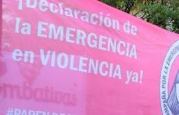 Caravana en reclamo de declarar la emergencia en violencia hacia las mujeres