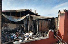 Incendio en 9 y 148: Una familia quedó a la deriva