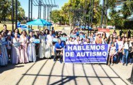 Parque Cívico: Exitosa jornada de concientización sobre autismo