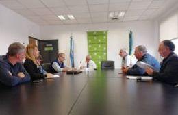 Reunión en el Ministerio de Trabajo