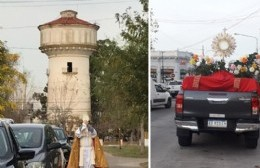 Procesión y caravana religiosa por Berisso y Ensenada