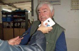 Ricardo Cuevas, titular del Centro de Almaceneros y Afines de Berisso.