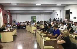 Sesión especial de Mayores Contribuyentes: Cual trámite, se aprobó todo por unanimidad