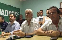 Marcelo Peroni y Claudio Hiser, foto de archivo