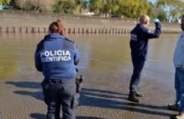 El cuerpo del pescador Amadeo Martínez fue encontrado en las aguas del Río de La Plata en Berisso.