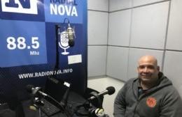 Roberto Scafati, presidente de la Sociedad de Bomberos Voluntarios.