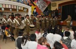 La Escuela Nº 4 fue sede del acto central por del fallecimiento de San Martín