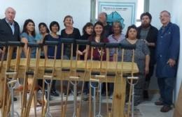 El Centro de Formación Profesional N° 401 donó elementos de prótesis al Larraín