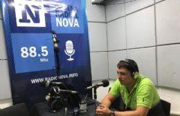 Conrado Barrueco, en el aire de BerissoCiudad en Radio.