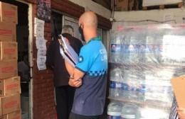 Fiscalización y control de precios de botellas y bidones de agua