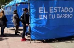 """""""El Estado en Tu Barrio"""" se instala en el Parque Cívico"""
