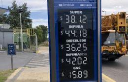 Retoques en YPF: Bajó la nafta y subió el gasoil