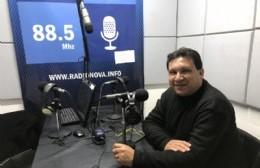Maximiliano Barragán, en el aire de BerissoCiudad en Radio.