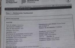 Asaltaron al dirigente peronista Federico Ruiz