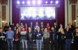 Secco presentó la lista del Frente de Todos en Ensenada