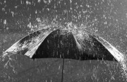 Lluvia sin tregua.