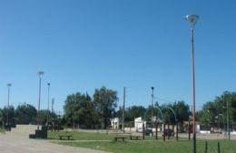 La emblemática plaza del Barrio Obrero no es lo que era (foto archivo)