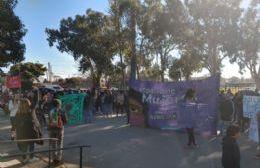 Marcha en contra de la violencia machista