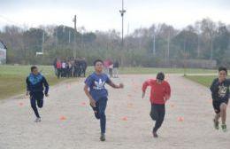 Con las pruebas de atletismo comenzó la etapa municipal de los Juegos Bonaerenses