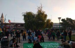 Pañuelazo en Berisso por el aborto seguro, legal y gratuito