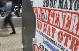 """Identidad Berissense respalda el paro general: """"No se puede seguir viviendo así"""""""