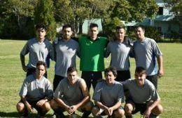 El equipo albanés.