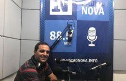 Juan Ignacio Mincarelli en el aire de Cadena Radial NOVA.
