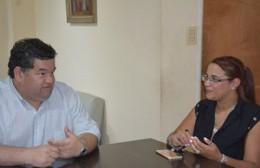 Nedela recibió a la titular de la Asociación de Entidades Extranjeras