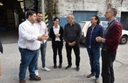 El ministro Sica visitó empresas locales junto a Nedela