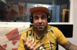 """El """"Gordo Turro"""", cantante de Berisso: """"Soy un pibe humilde y llegué gracias a la gente"""""""