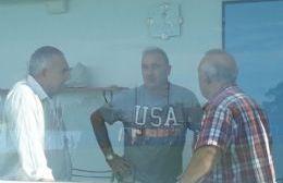Ángel Celi, Alejo Colombo y Jorge Pagano.
