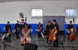 La Orquesta Escuela celebró 16 años de existencia con una cálida merienda